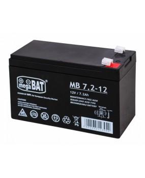 Batéria megaBAT 12V 7,2Ah pre elektrické autíčka